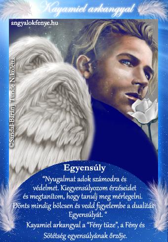 Kayamiel arkangyal kártya-2