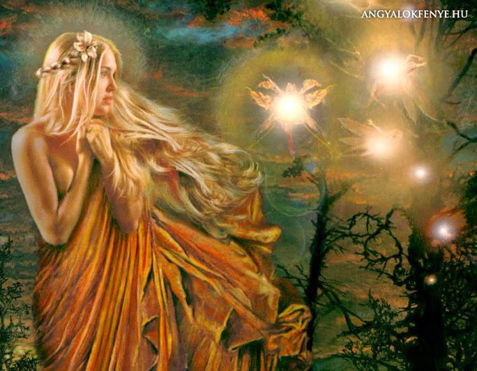 Természet angyalai - tündérek, elementálok