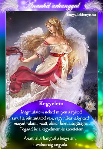 Ananhel arkangyal kártya