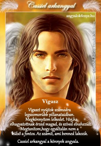 Cassiel arkangyal kártya