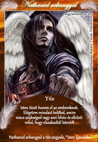 Nathaniel arkangyal kártya