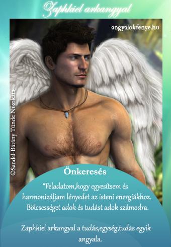 Zaphkiel arkangyal kártya