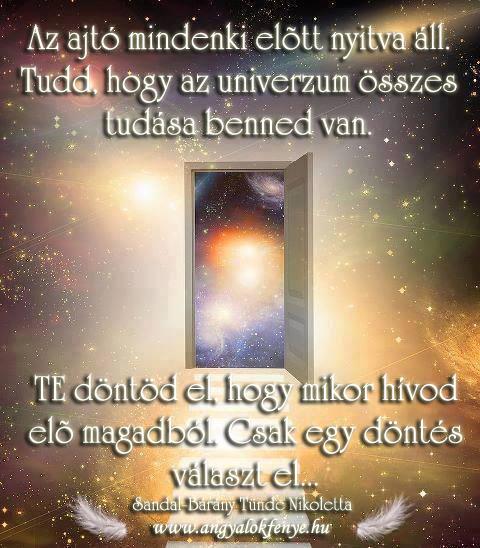 Angyali üzenet-Az univerzum tudása