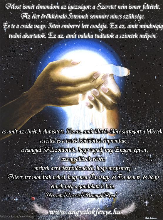 Isten üzenete-A Szeretet nem ismer feltételt