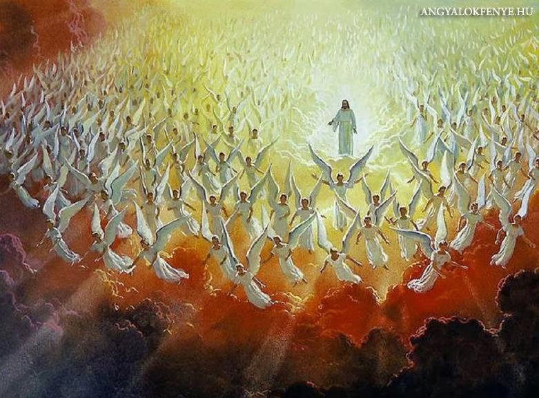 Jézus és az angyalok