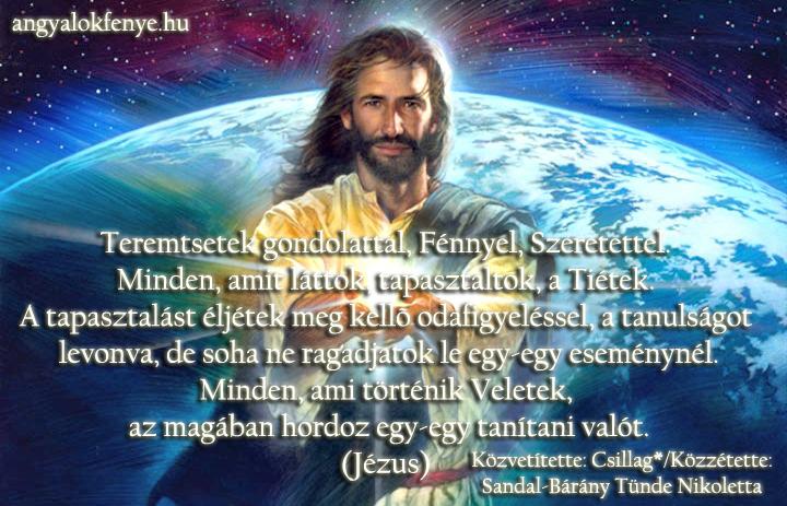 Jézusi üzenet