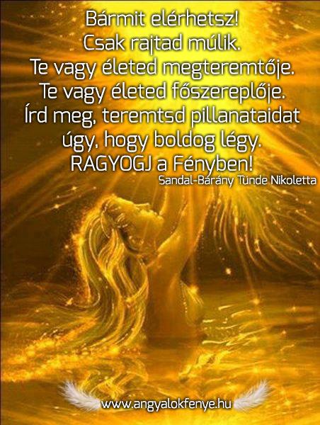 Angyali üzenet-Ragyogj a fényben