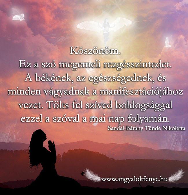 Angyali üzenet-Minden vágyad manifesztációja