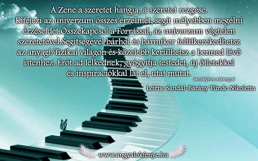 Angyali üzenet-A zene a szeretet hangja