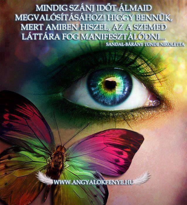 Angyali üzenet-Szánj időt álmaidra