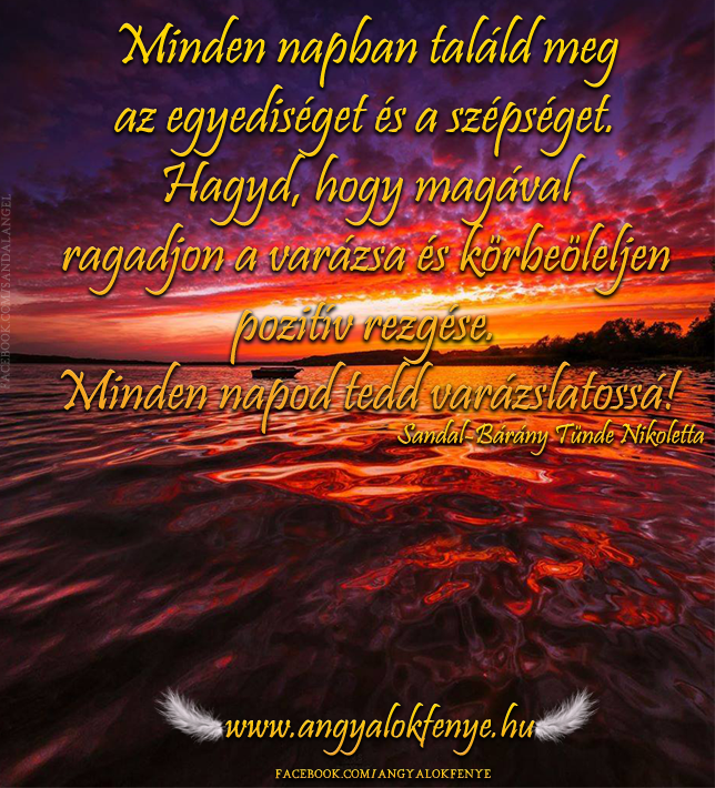Angyali üzenet - Minden napban