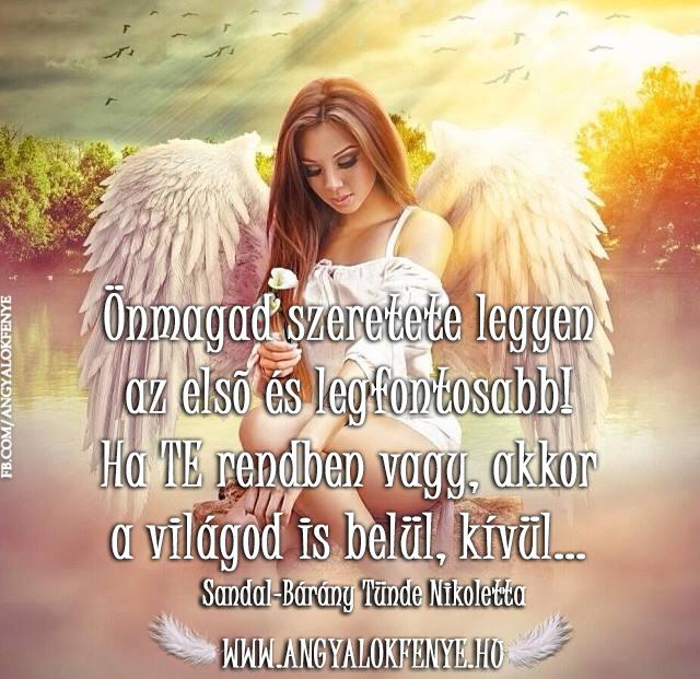 Angyali üzenet-Önmagad szeretete