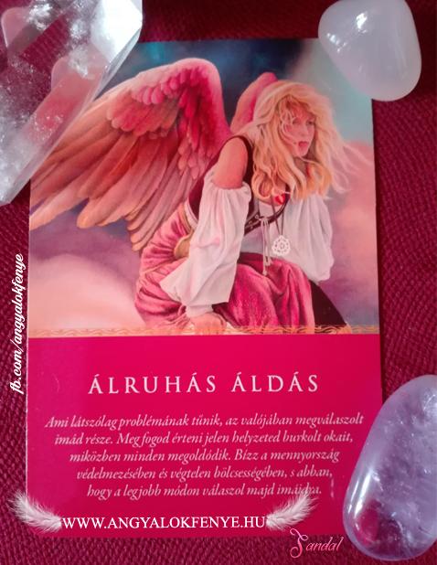 Angyali üzenet-Álruhás áldás