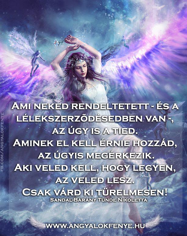Angyali üzenet-Ami neked rendeltetett