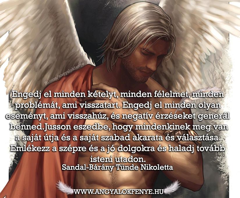 Angyali üzenet-Engedj el minden kételyt
