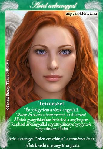Ariel arkangyal kártya