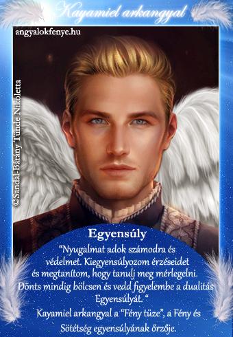 Kayamiel arkangyal kártya