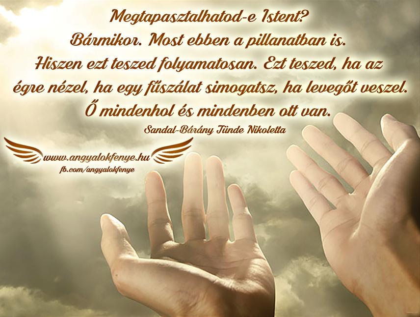 Angyali üzenet-Megtapasztalhatod-e Istent