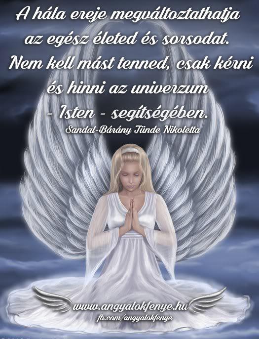 Angyali üzenet-A hála ereje