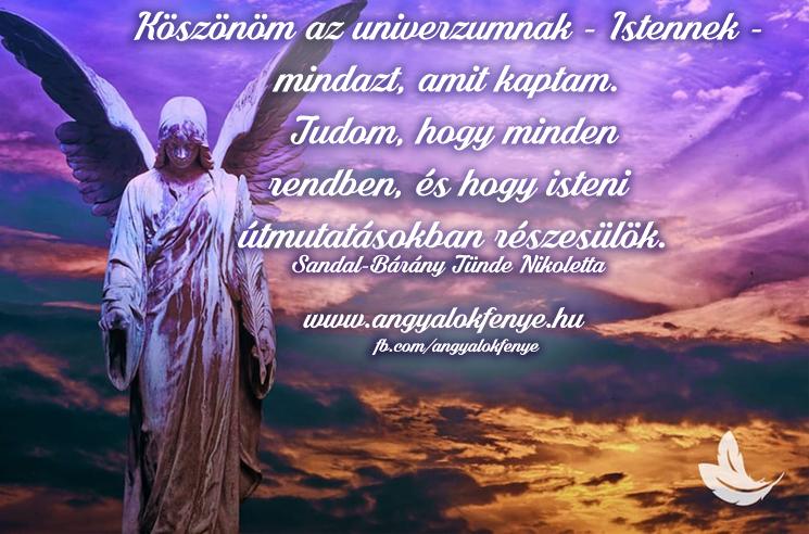 Angyali megerősítés-Isteni útmutatásban részesülök