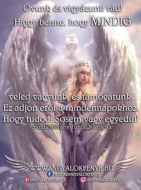 Angyali üzenet-Óvunk és vigyázunk rád