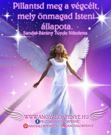Angyali üzenet-Pillantsd meg a végcélt