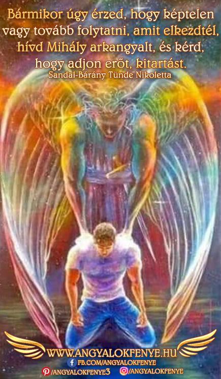 Angyali üzenet-Kitartás és erő Mihály arkangyaltól