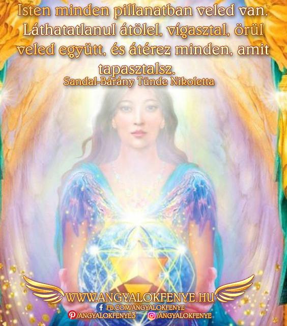 Angyali üzenet-Isten minden pillanatban veled van