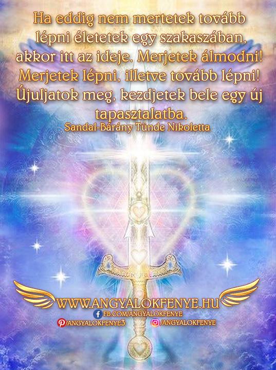 Angyali üzenet-Újuljatok meg