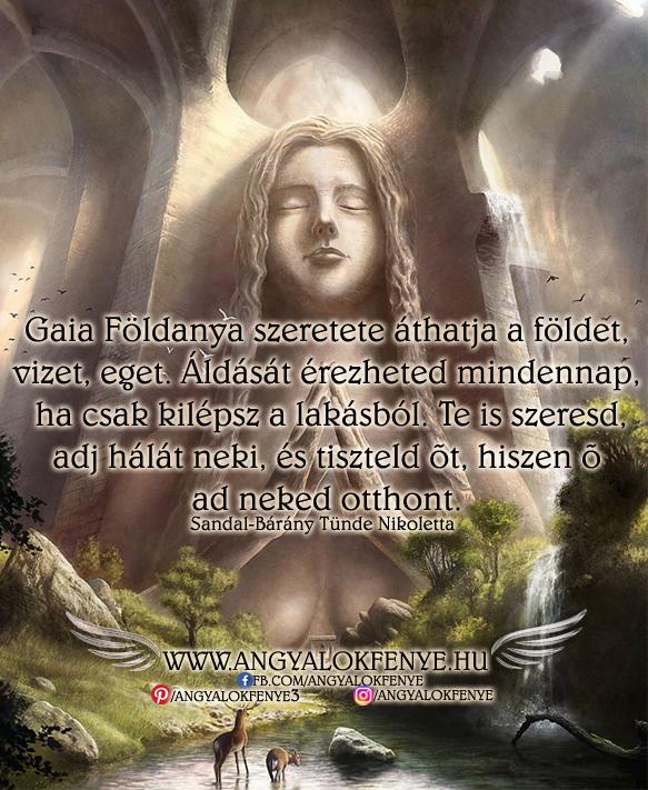 Angyali üzenet-Gaia Földanya szeretete