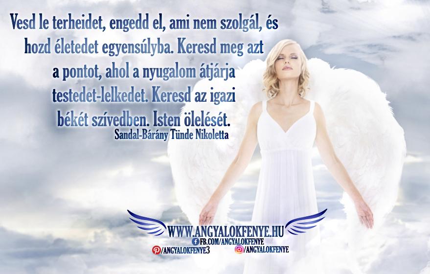 Angyali üzenet-Vesd le terheidet