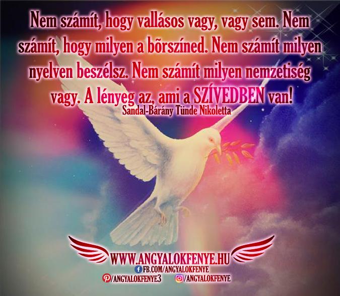 Angyali üzenet-A lényeg az, ami a szívedben van