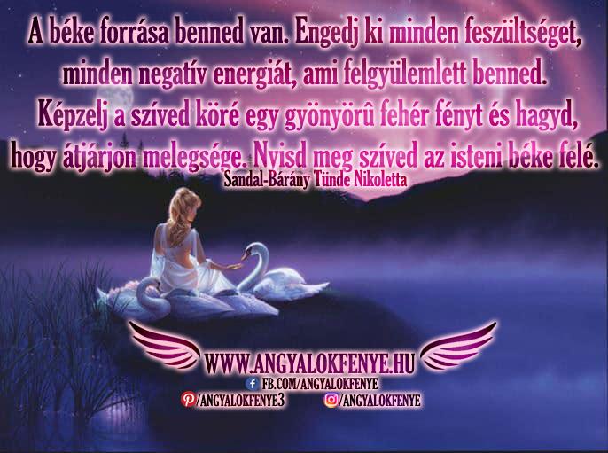 Angyali üzenet-A béke forrása benned van