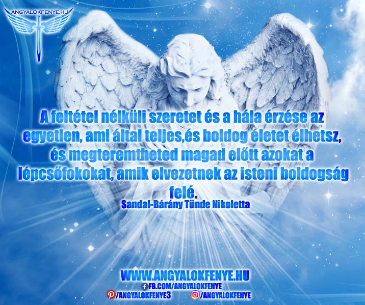 Angyali üzenet-Az isteni boldogság felé