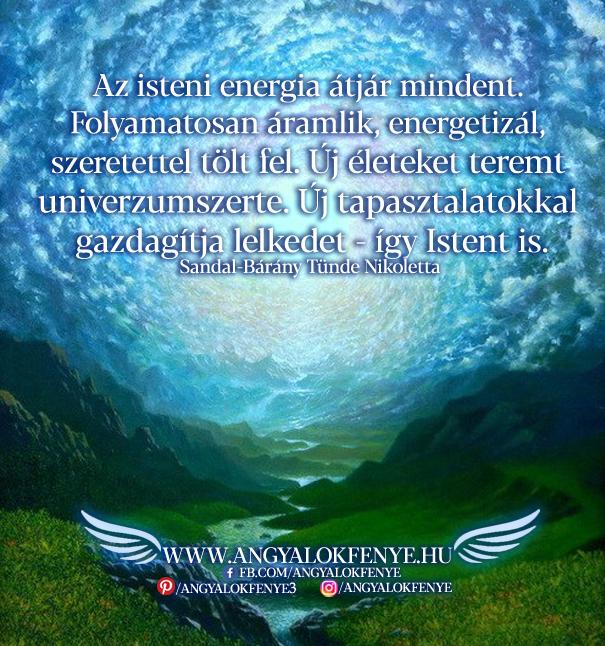 Angyali üzenet-Az isteni energia átjár mindent