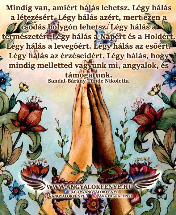 Angyali üzenet-Mindig van, amiért hálás lehetsz
