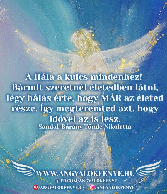 Angyali üzenet-A hála a kulcs mindenhez