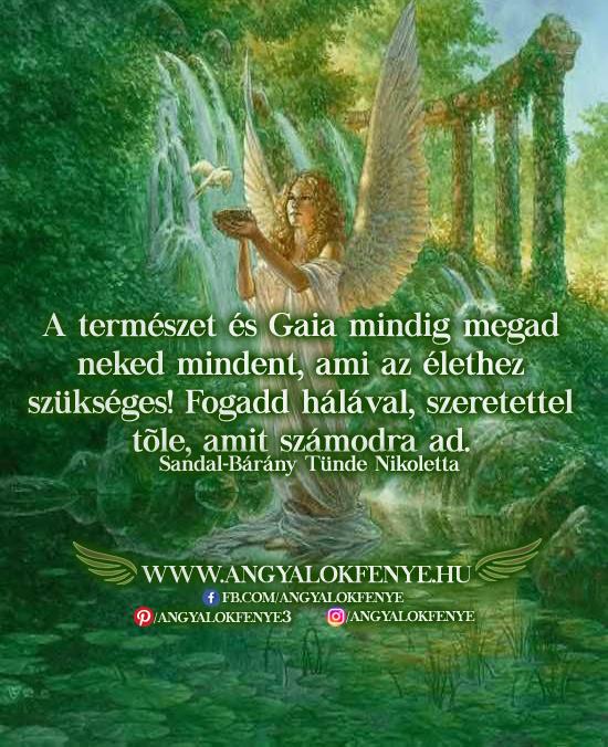 Angyali üzenet-A természet mindent megad neked