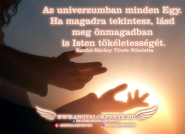 Angyali üzenet-Az univerzumban minden Egy