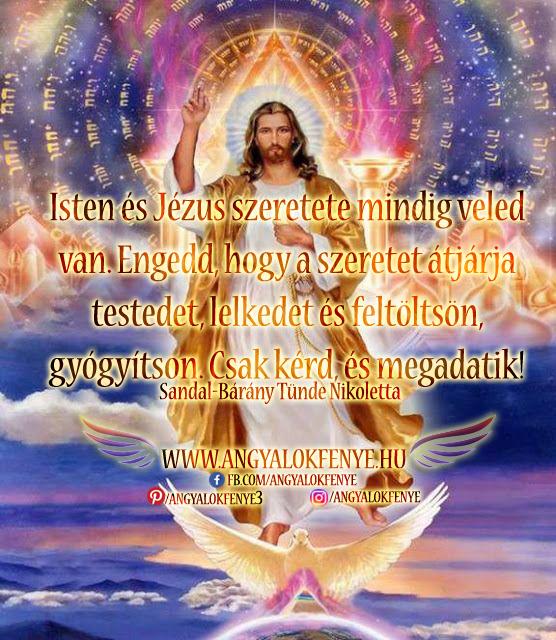 Angyali üzenet-Isten és Jézus szeretete mindig veled copy