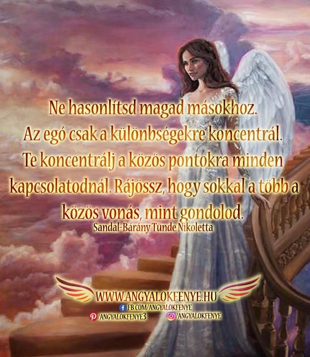 Angyali üzenet-Ne hasonlítsd magad másokhoz